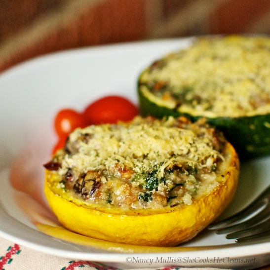 Stuffed 8 ball squash