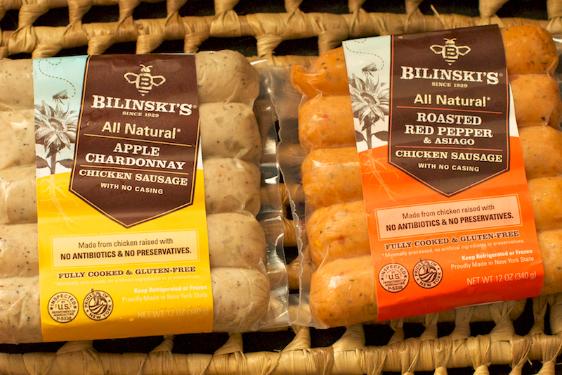 Product Review Bilinskis All Natural Chicken Sausages She Cooks