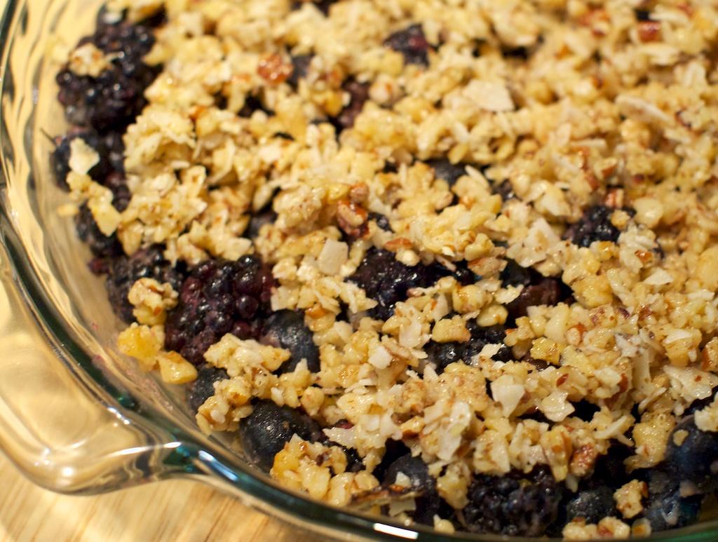 Berry Nutty Crisp Recipes — Dishmaps
