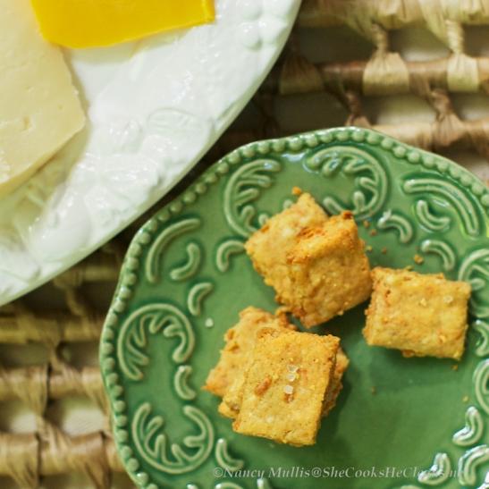 3 Cheese Crackers  - Grain Free
