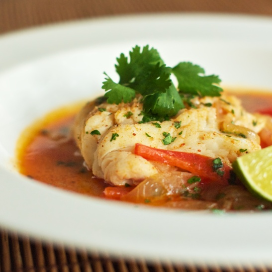 Red curry poached cod she cooks he cleans for Whole foods fish on sale this week
