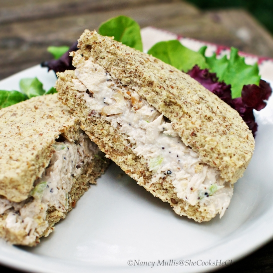 Paleo Sandwich Bread 2.0 from She Cooks, He Cleans