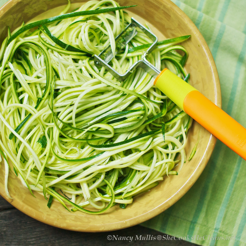 nashua nutrition - zucchini noodles