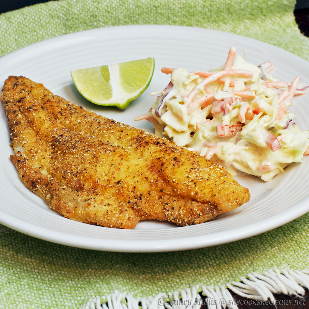 Pan-Fried Catfish | she cooks...he cleans