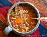 Beef Vegetable Soup / SheCooksHeCleans.net