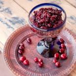 cranberry bourbon compote 2