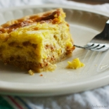 Quiche bacon-swiss
