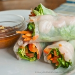Spring Rolls with Almond Butter Sauce 1 (1)