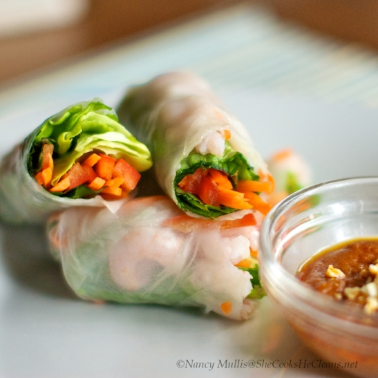 Spring Rolls with Almond Butter Sauce 2 (1)
