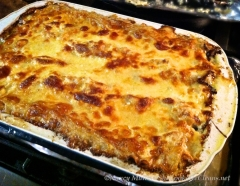 chicken lasagna cooked