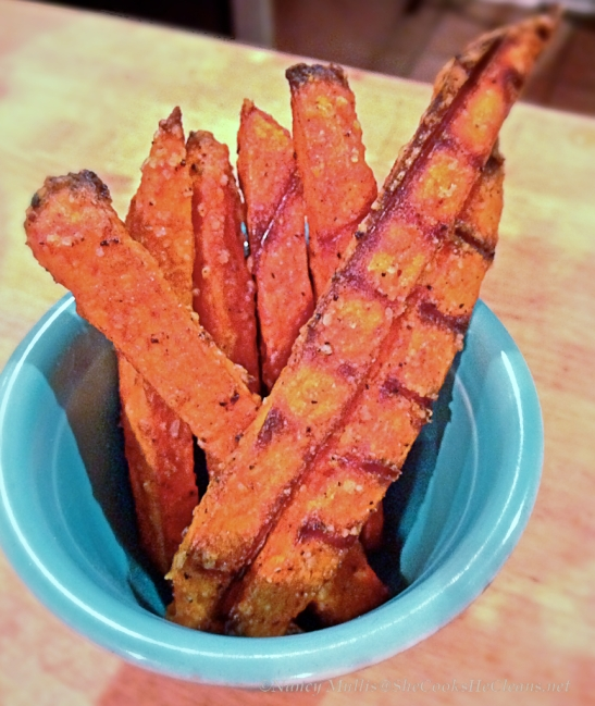 Sweet potato fries /She Cooks, He Cleans