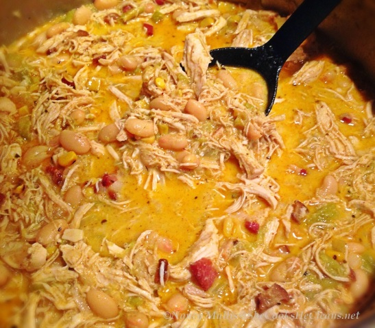 Chicken Green Chile Stew  / She Cooks He Cleans