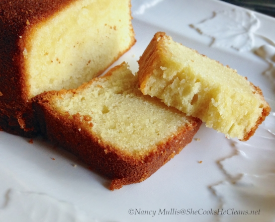 Pound Cake GF, from She Cooks, He Cleans