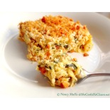 Cheesy Spaghetti Squash Bake /SheCooksHeCleans.net